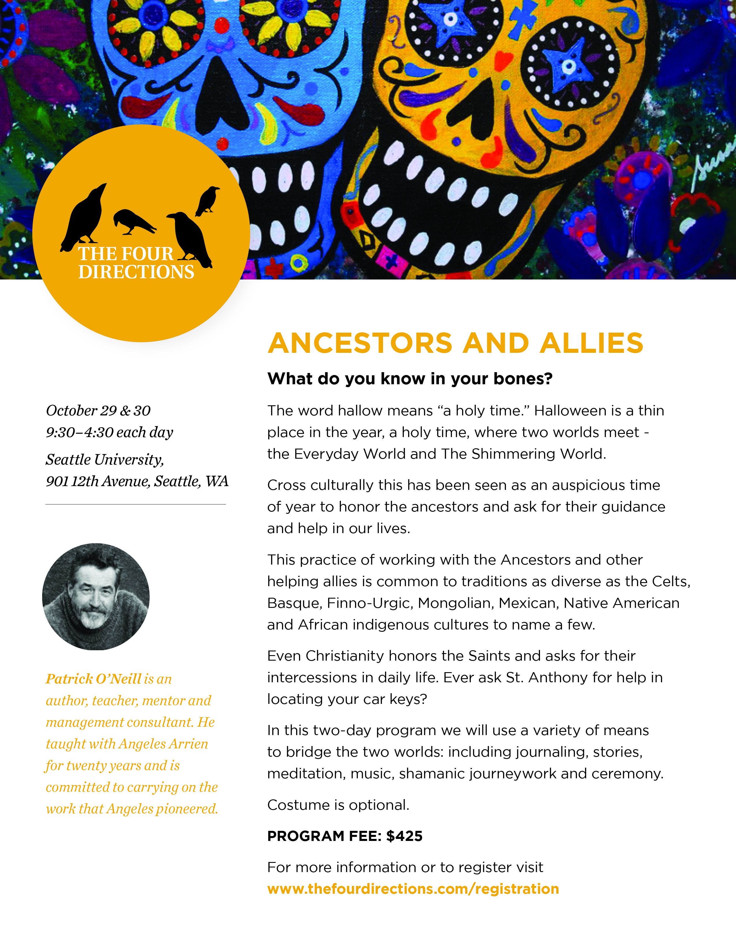 Ancestors & Allies with Patrick O'Neill