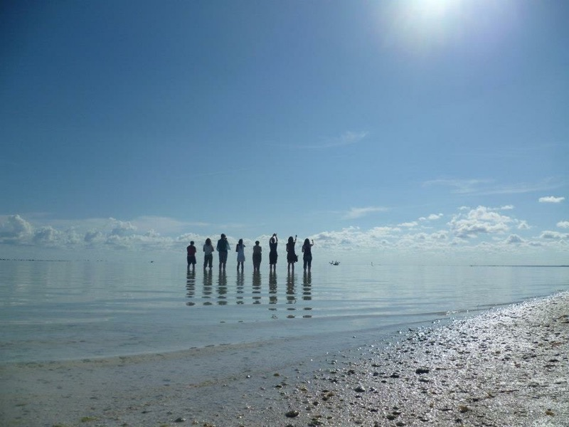 Holbox Island, Mexico - giving offerings to the sea. Photo by Kathryn Kramer