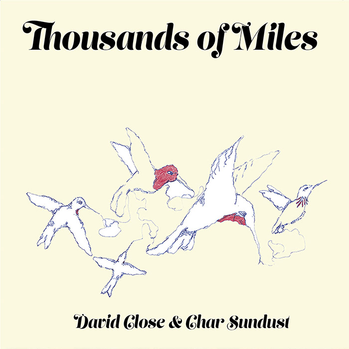 Thousands of Miles CD Cover art